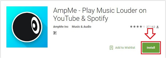 Install AmpMe APK on Android phone tablets